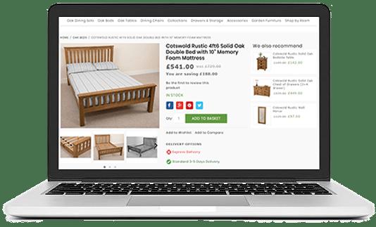 REFURBISH YOUR FURNITURE WEBSITE DESIGN WITH UNIQUE ECOMMERCE FEATURES furniture ui/ux