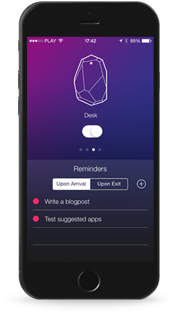 ibeacon mobile ui/ux