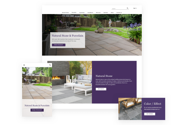 REFURBISH YOUR MARBLE, GRANITE, STONES AND TILES WEBSITE DESIGN WITH UNIQUE ECOMMERCE FEATURES